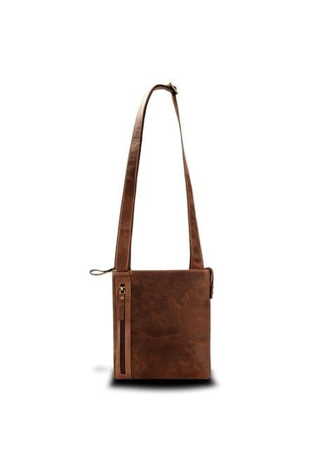 Visconti Messenger Bag in Tan
